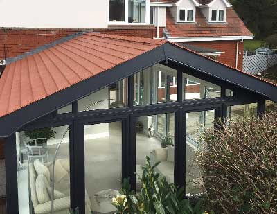solid conservatory roof legal