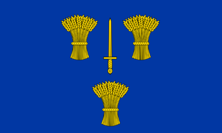 county flag of cheshire